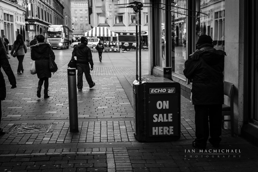 Fuji X Pro 1 and VSCO pack 05   street photography Liverpool