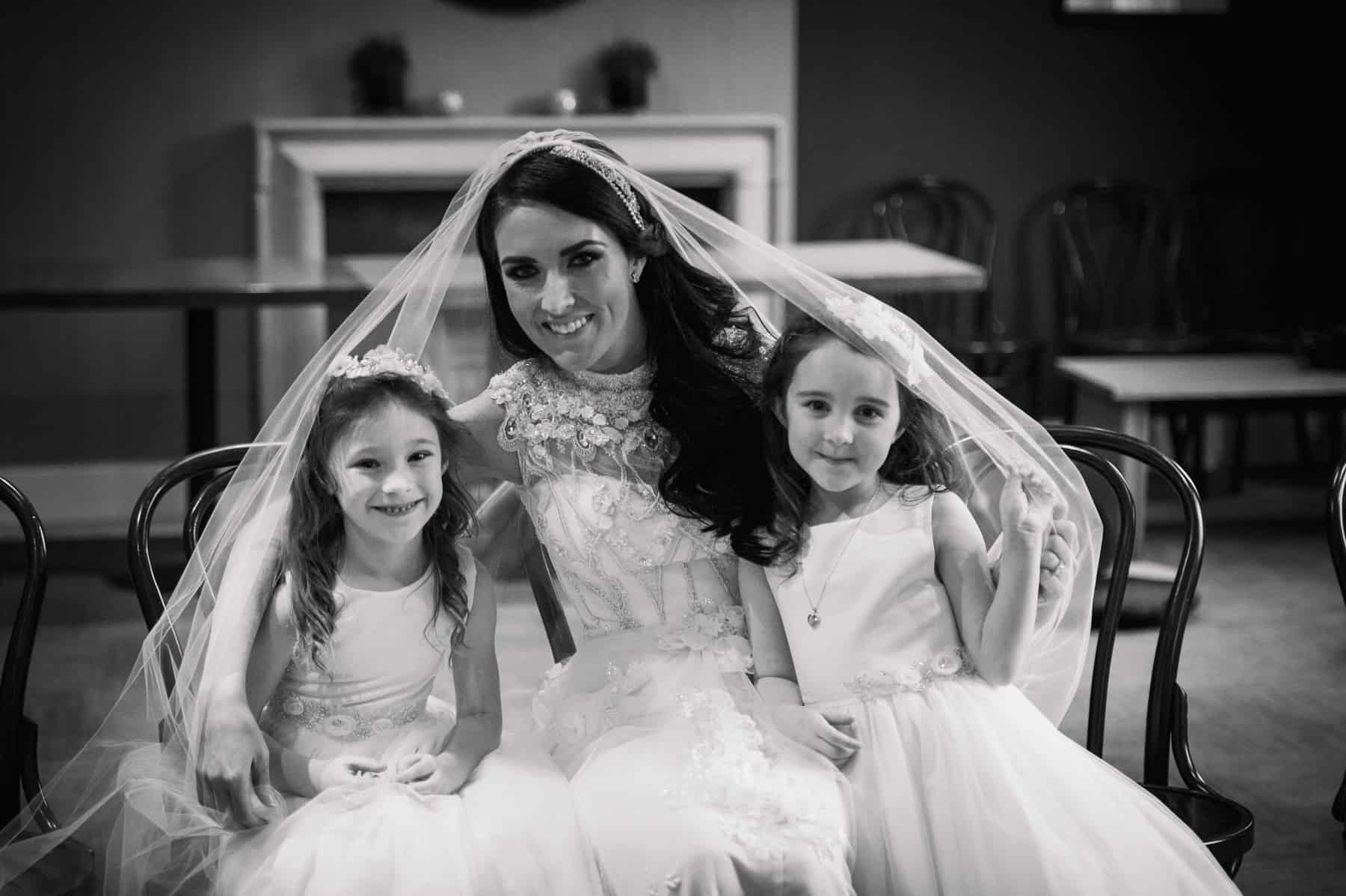 wedding photography bride and bridesmaids (1 of 1)
