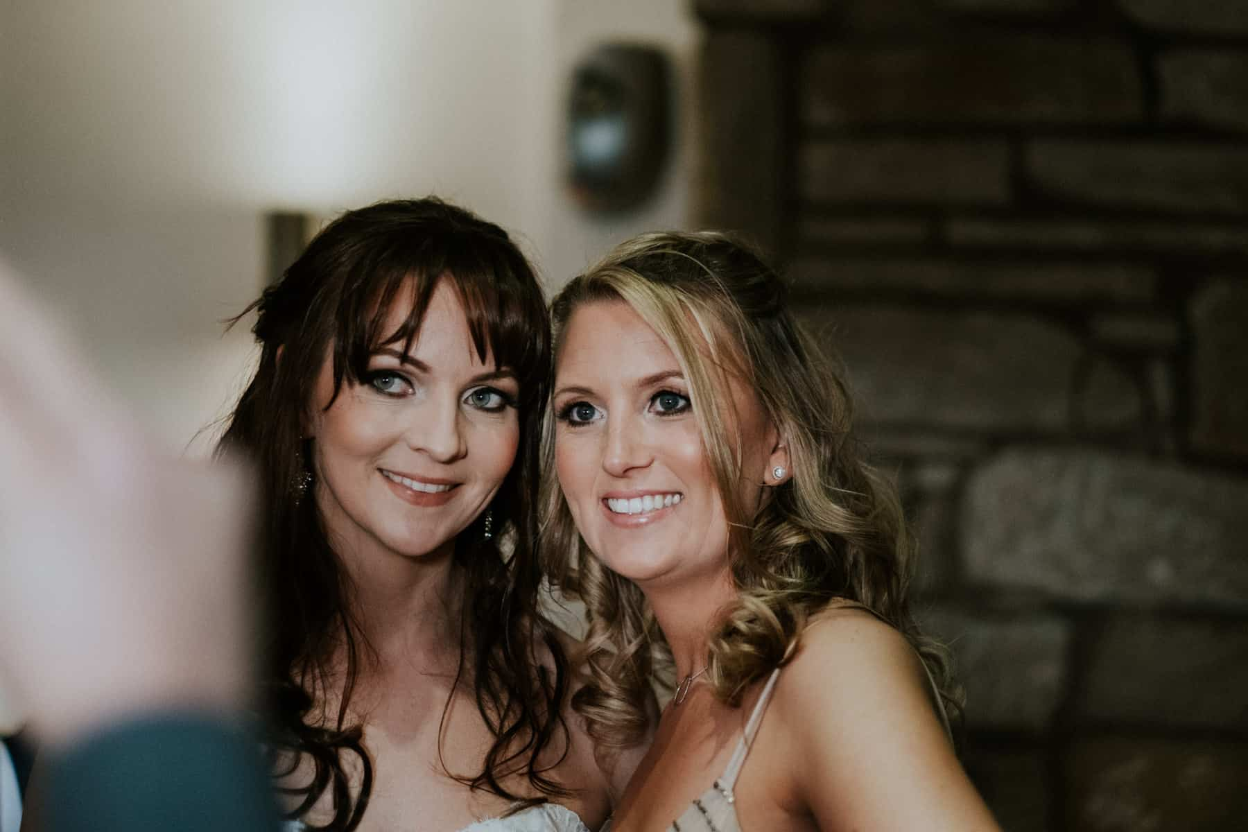 wedding photography bride and guest (1 of 1)