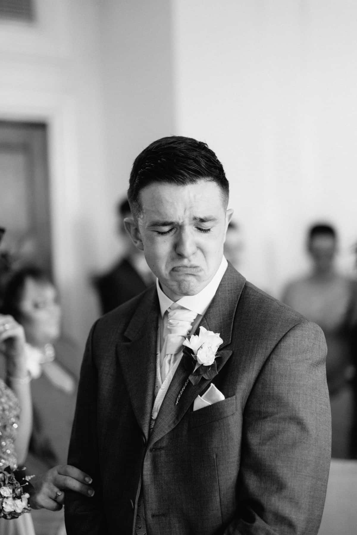 wedding photography grooms tears (1 of 1)