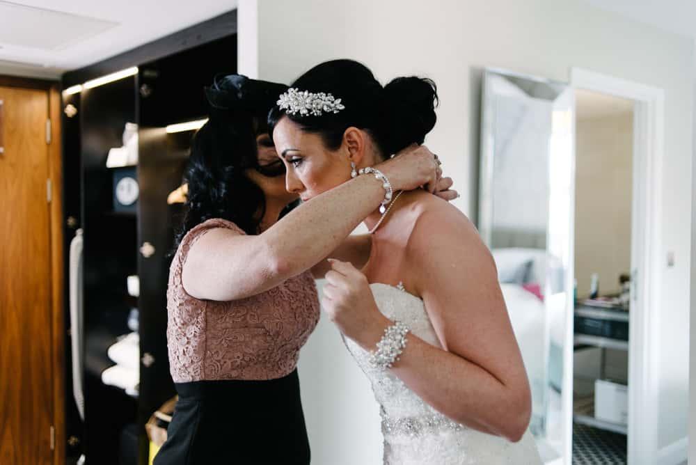 bride final preps