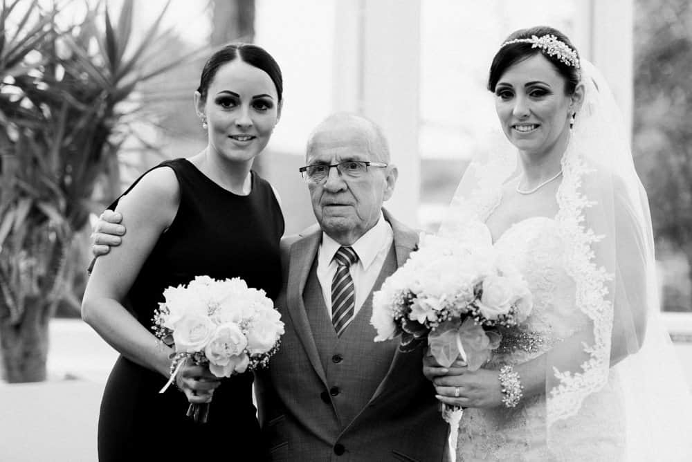 sisters and grandad
