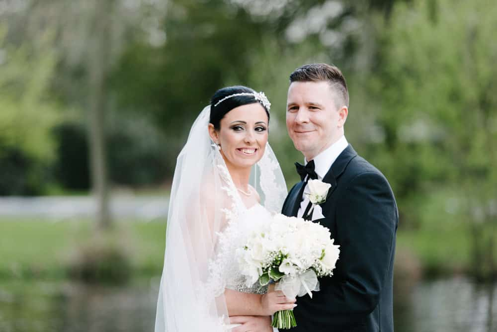 beautiful gride and groom portrait