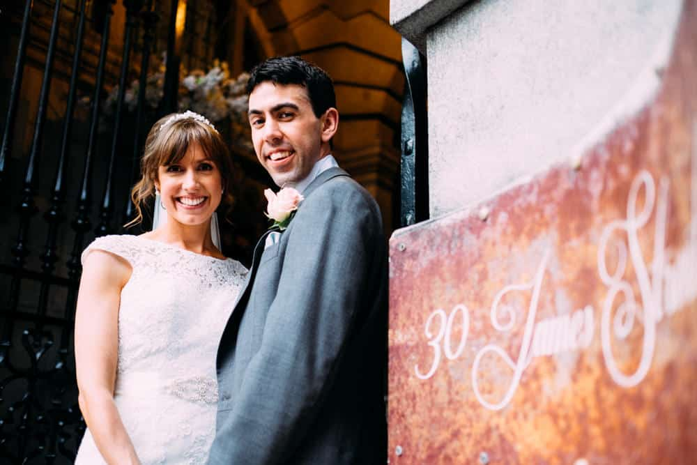 30 James Street wedding photographer