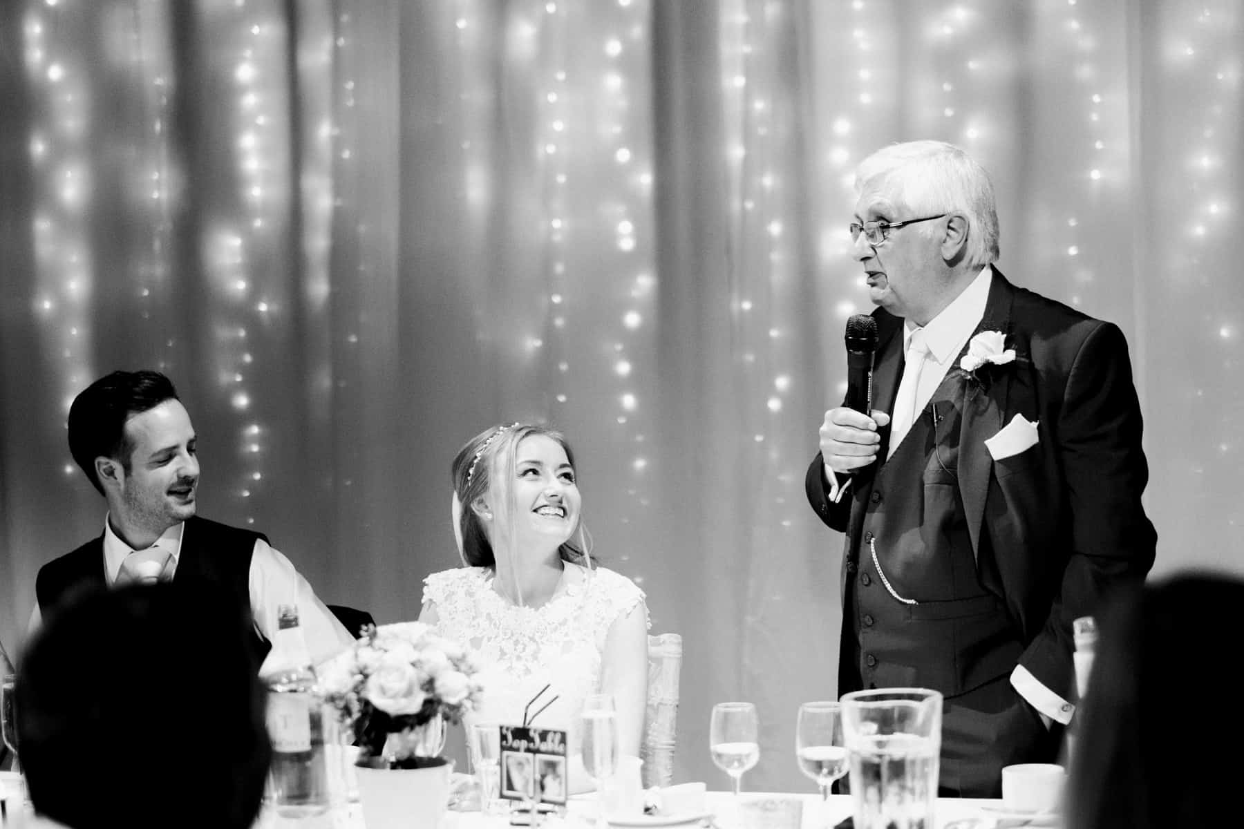 bride's dad speech