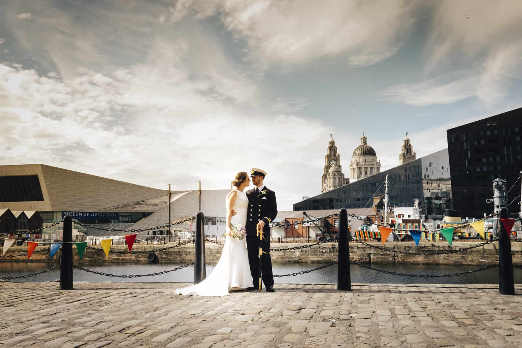 Mersey Maritime Museum wedding photography