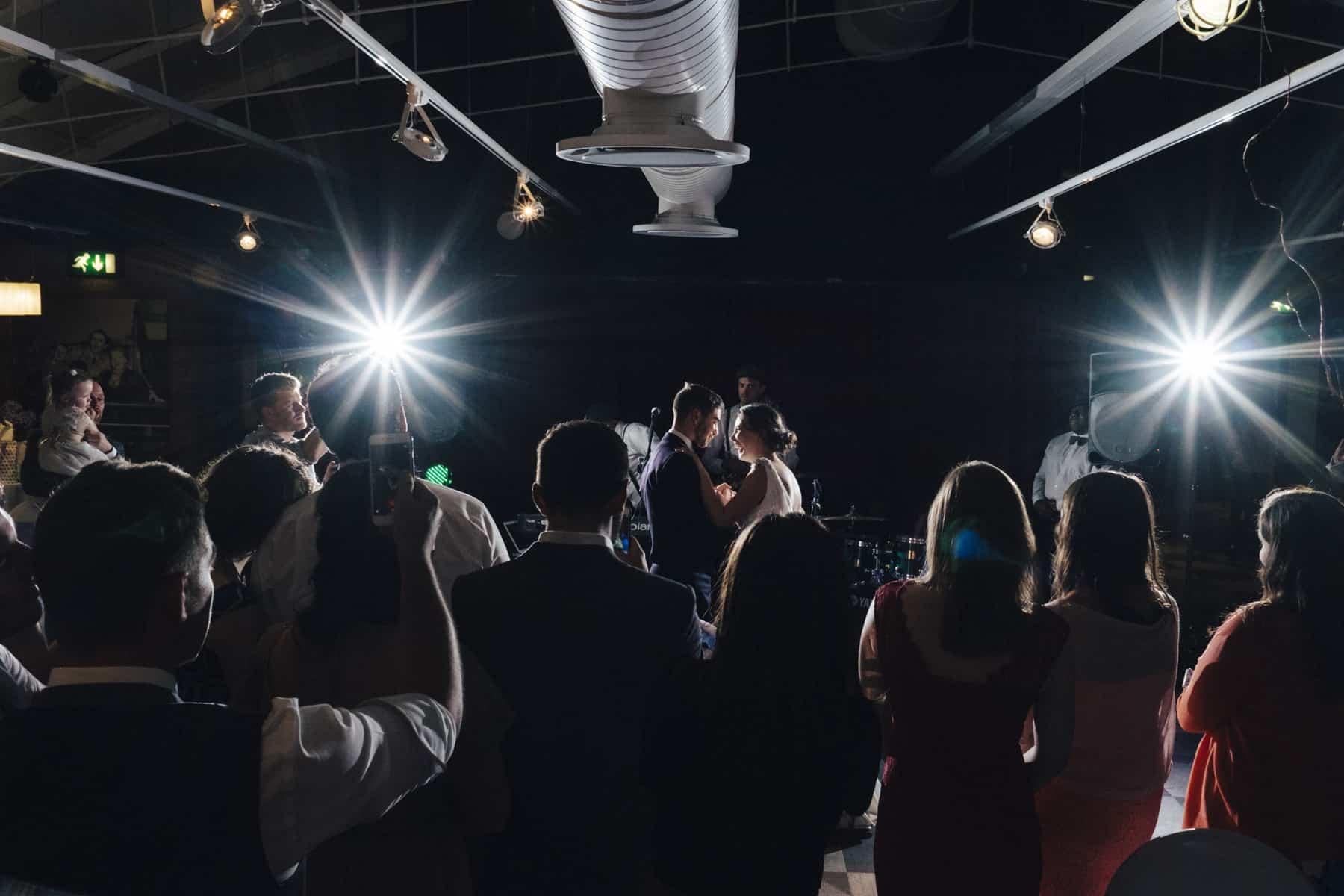dramatic first dance photograph