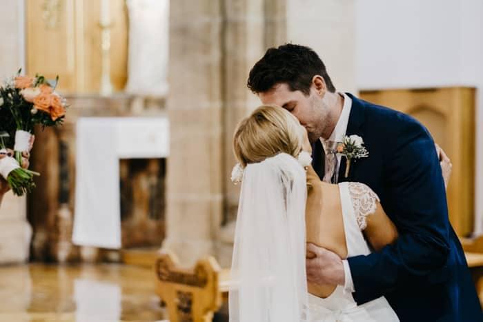 you may kis the bride