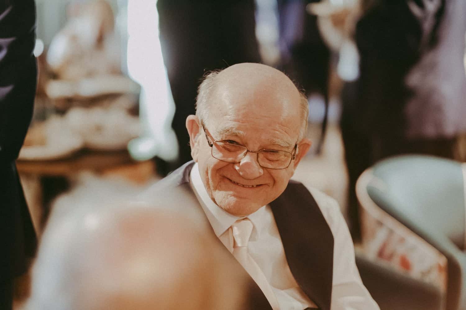 Groom's dad