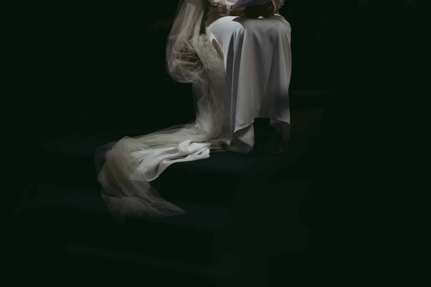fine art wedding dress photograph