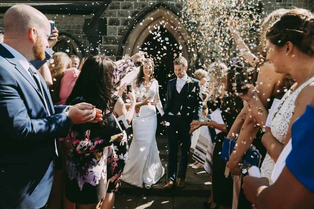 Amazing confetti photograph