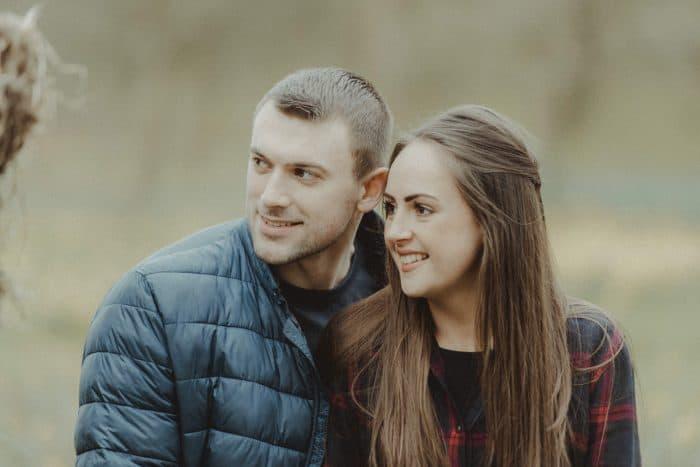 Jess and Ali unposed portrait Liverpool