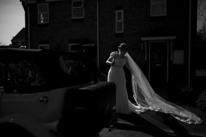 beautiful unposed bridal portrait