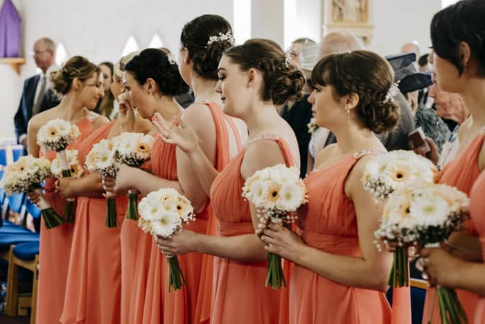 tearful bridesmaids