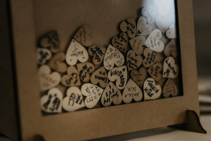 love heart details