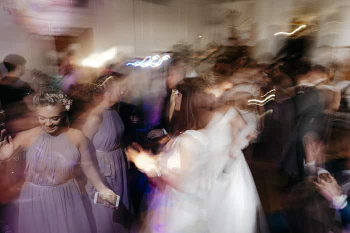 creative dance shot