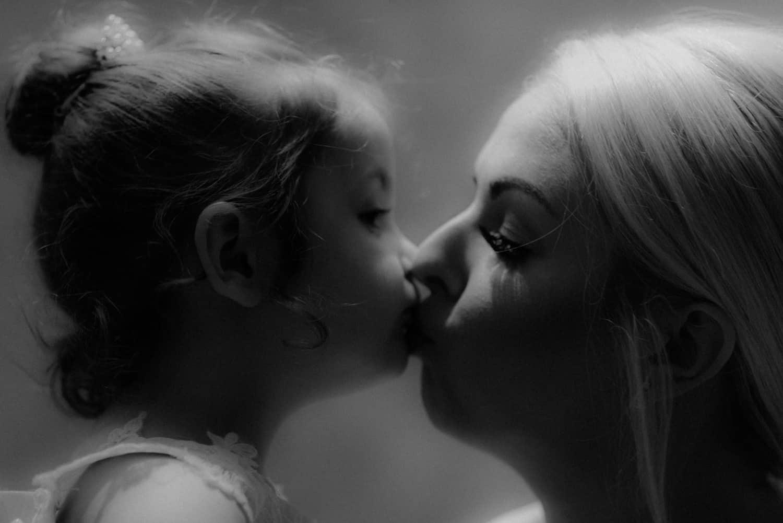 A last minute kiss