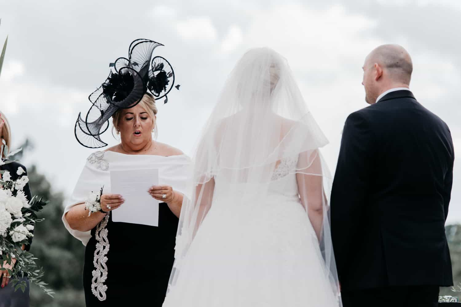 Bride's mum does a reading