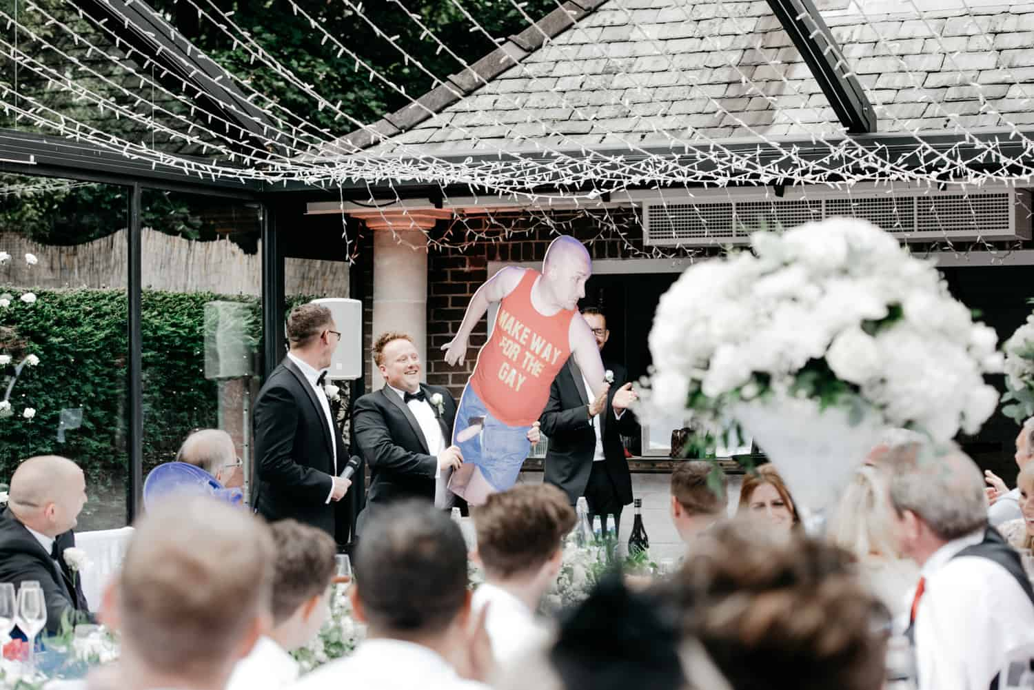 more embarrassment for the groom