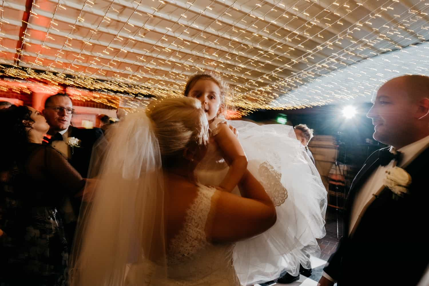 bride and her daighter