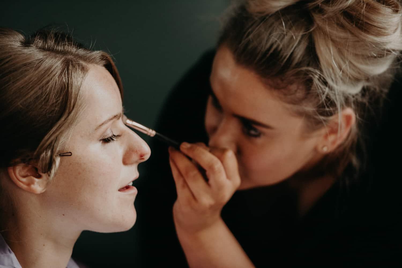bridesmaid eye make up