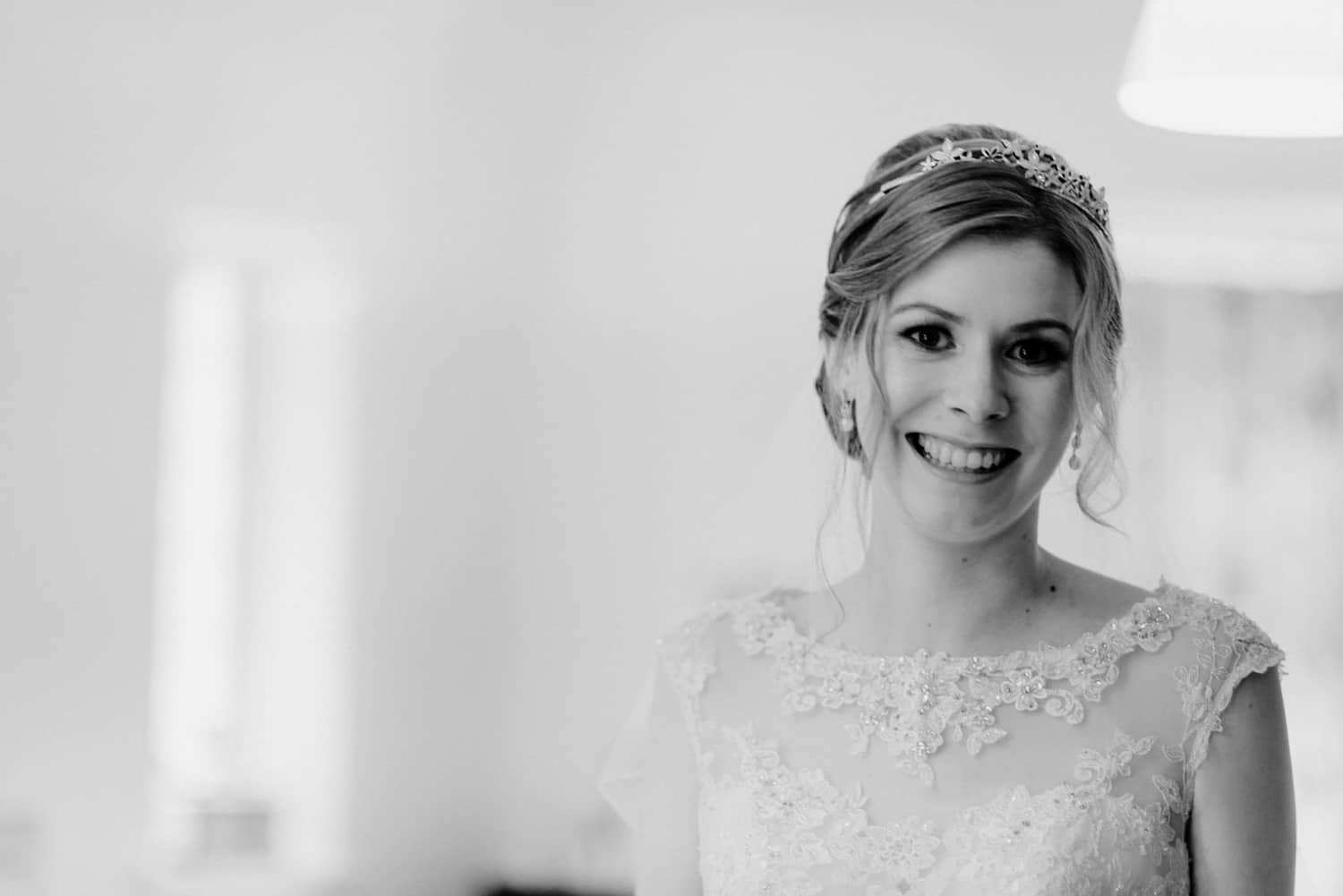 a beautiful bride portrait