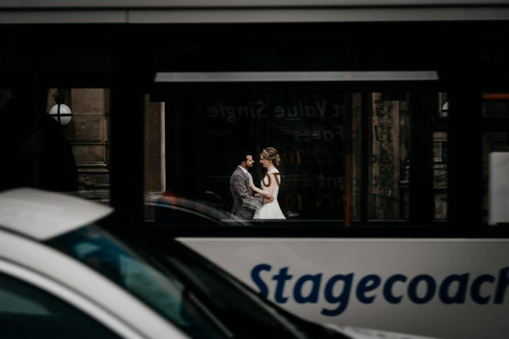amazing bride and groom portrait