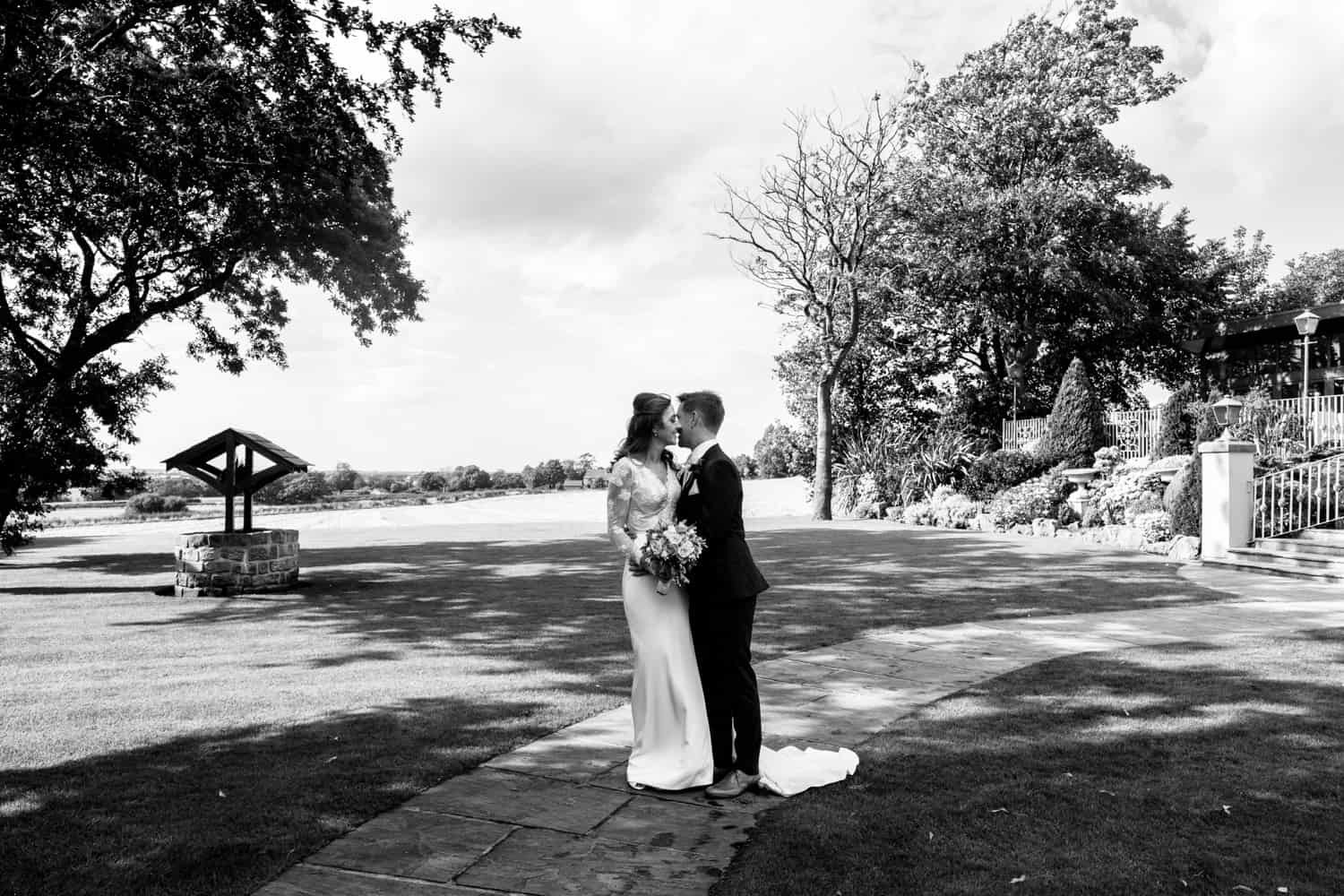 West Tower wedding photography by Ian MacMichael photography