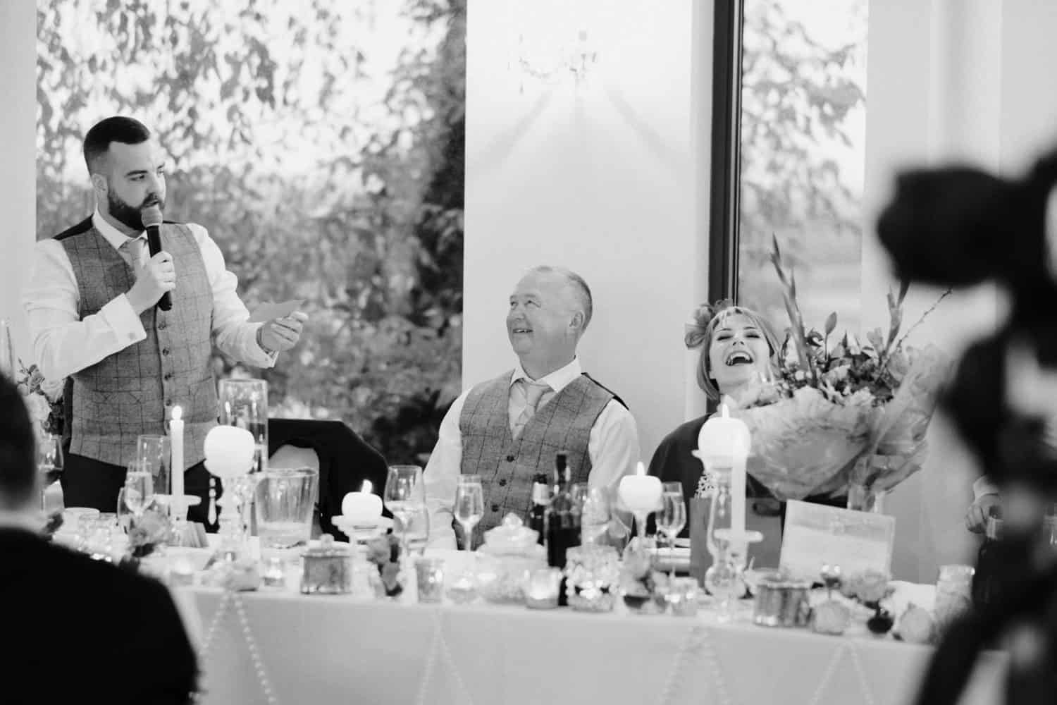 top table laughs