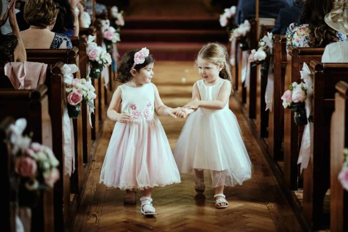 very cute flower girls